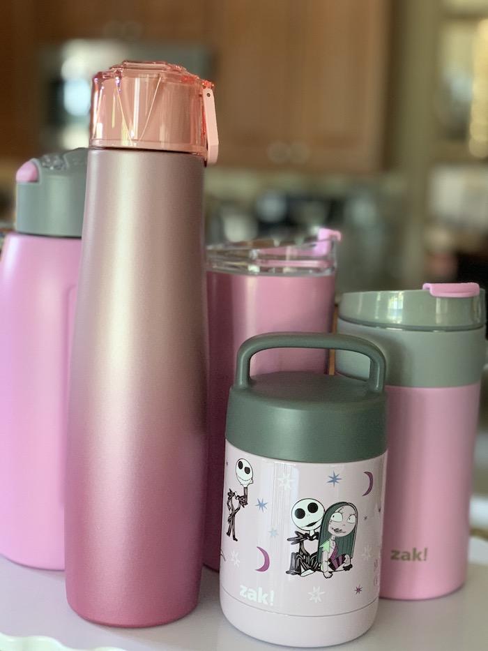 ZAK Designs stainless steel drinking water bottles